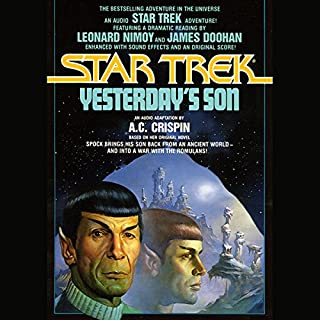 Star Trek: Yesterday's Son audiobook cover art