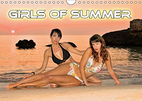 Girls of Summer (Wall Calendar 2019 DIN A4 Landscape): Beautiful women by the water (Monthly calendar, 14 pages )