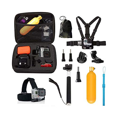Raitron 10 In1 Bandjes Accessoires Kit Voor GoPro Hero 5 4 Sessie 3+ 3 YI Actie Camera - Quarkscm