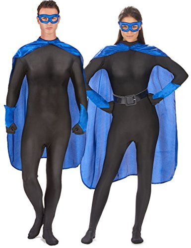 Generique - Kit Super héros Bleu Adulte