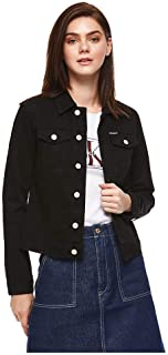 bf029cbcd Calvin Klein Jeans-J20J208037-Women-Jackets-Orbost Black-S, Size