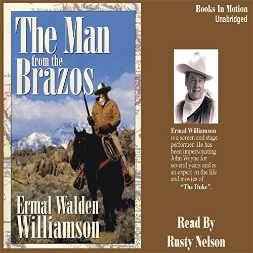 The Man from the Brazos audiobook cover art