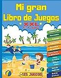 Mi Gran Libro de Juegos XXL +125 Juegos: Para niños de 5 a 7 años |...