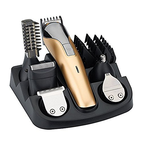 iXpro All in One Rechargeable Electric Hair Grooming Kit,Nose Ear Body...
