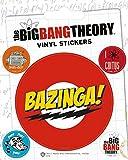 1art1 80736 Big Bang Theory - Bazinga, Vinyl Sticker Set