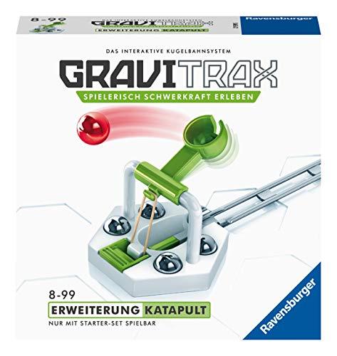 Ravensburger GraviTrax Erweiterung Katapult- Ideales Zubehör für spektakuläre Kugelbahnen, Konstruktionsspielzeug für Kinder ab 8 Jahren