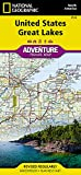 United States, Great Lakes (National Geographic Adventure Map (3124))