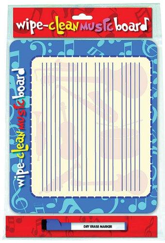 WIPE CLEAN MUSIC BOARD LANDSCAPE EDITION (Wipe Clean Board)