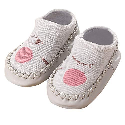 Sensail Chaussettes bébé au sol épais chaussettes antidérapantes pour enfants chaussettes yeux de dessin animé chaussettes chaussettes pour bébé nouveau-né Chaussettes garçon et fille