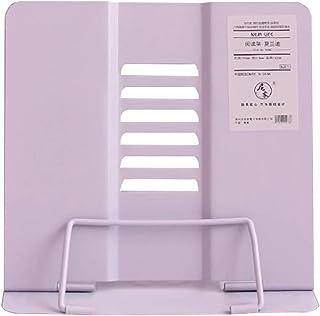 Walory Estantería, Soporte para libros de metal Soporte ajustable para seis estantes Soporte para documentos Estantería Gr...