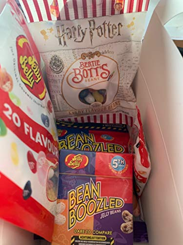 Regalo colorido con Jelly Belly Beans Bean Boozled & Bertie Botts, el Harry Potter Beans.
