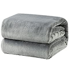 VERSATILE USAGE SCENARIOS: Surround yourself with Bedsure Flannel Fleece Blankets while watching TV series with a mug of hot chocolate on couch, especially on chilly nights - As a perfect companion while having a comfy nap in your work with our super...