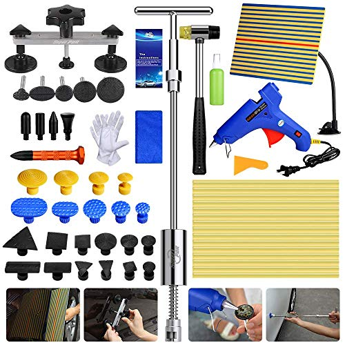 Fly5D Auto Body Dent Removal Repair Kit PDR Tools DIY Pops a Dent Puller with Glue Gun