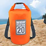 Borsa Impermeabile GolWof 20L Sacca Acqua Waterproof Dry Bag con Tracolla Regolabile Borsa...