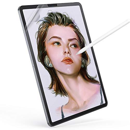 seenda Paper Screen Protector for iPad Pro 11 (2018 & 2020), Like Paper Matte Screen Protector Writing, Drawing with Apple Pencil Like on Paper, Soft Film Anti-Glare and Anti-Glare