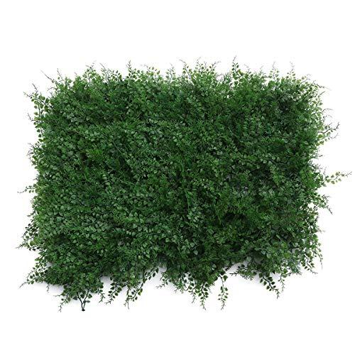 Vosarea Kunstrasen Synthetisches Gefälschtes Gras Dicker Rasen Pet Turf Platz Landschaft Grünpflanzen Indoor Outdoor Garten Dekorationen (A)