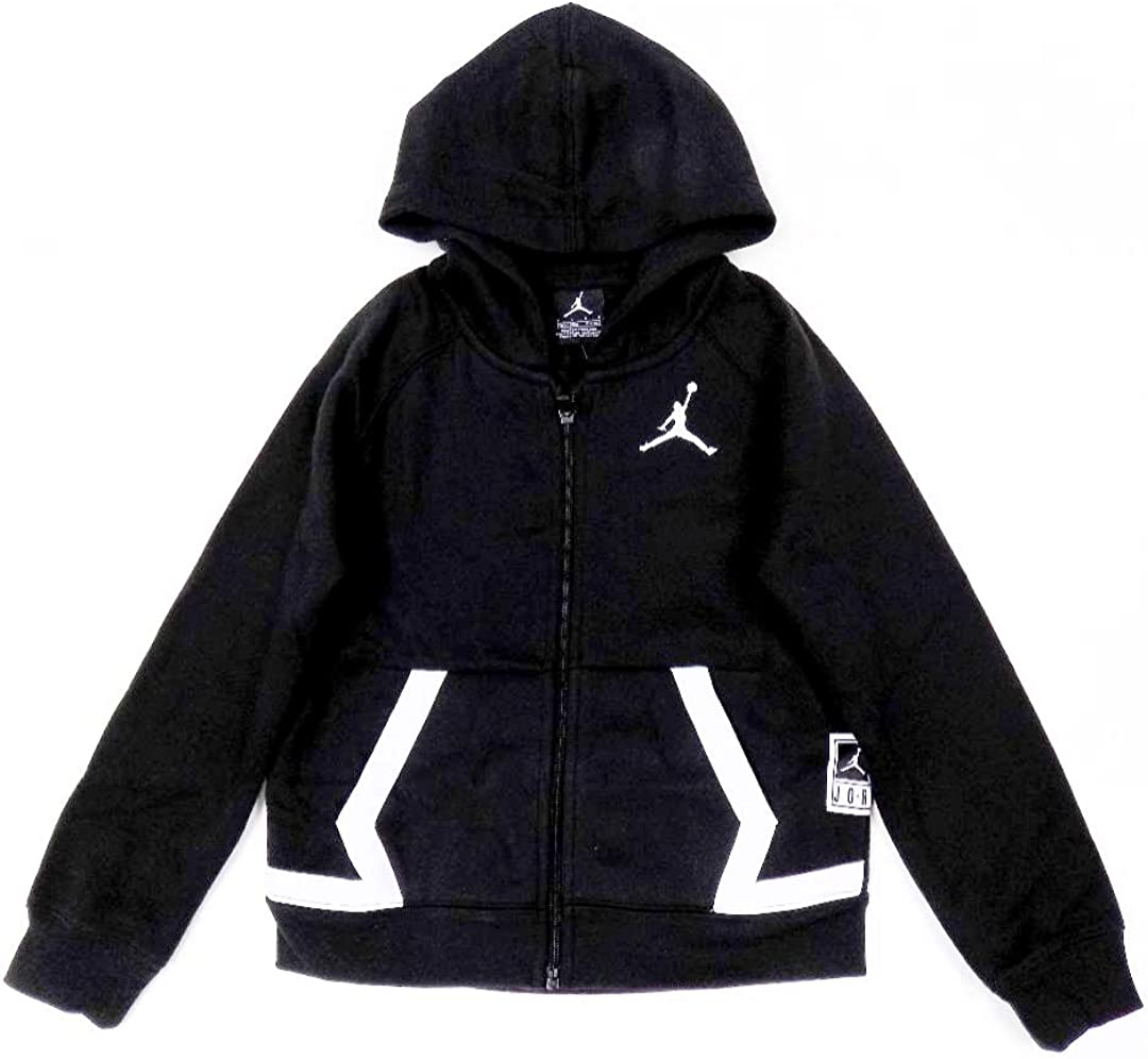 Nike Boys Diamond Fleece Hoodie - Black
