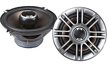 Polk Audio DB521 5.25-Inch Coaxial Speakers  Pair Silver   Renewed