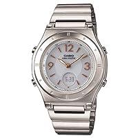 [カシオ] 腕時計 ウェーブセプター 電波ソーラー LWA-M141D-7AJF シルバー
