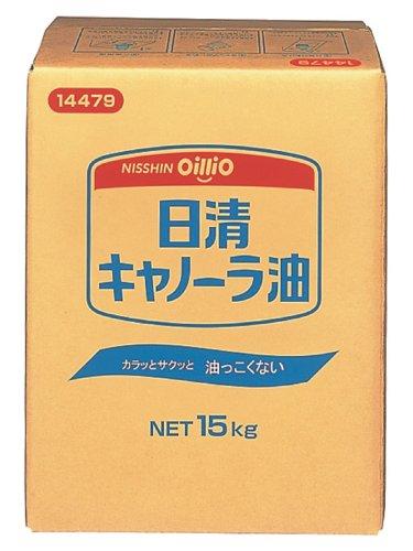 日清オイリオ キャノーラ油 BIB 15kg