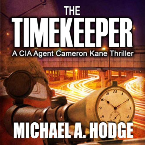 The Timekeeper audiobook cover art