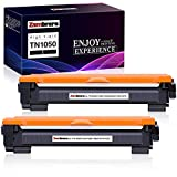 Zambrero Compatibile Toner TN1050 Sostituzione per Brother TN-1050 TN1050 Cartuccia Toner per Brother DCP-1612W DCP-1512 DCP-1510 1610W HL-1110 HL-1212W HL-1112 HL-1210W MFC-1910W MFC-1810 (2 Nero)