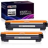 Zambrero TN-1050 TN1050 Cartucho Tóner Compatible para Brother DCP-1612W DCP-1610W DCP-1510 DCP-1512, Brother HL-1212W HL-1210W HL-1110 HL-1112, Brother MFC-1910W MFC-1810 (2 Negro)