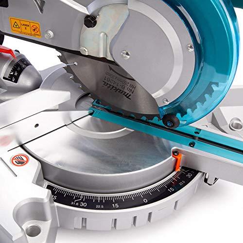 Makita Werkzeug LS1018LN Kapp- und Gehrungszugsäge, 240 V, Blau - 5