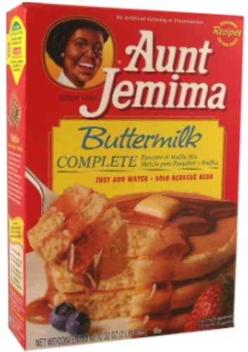 Aunt Jemima Buttermilk Complete Pancake and Waffle Mix 907 g (Pack of 2)