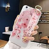 Robinsoni Polso Banda Cover Compatible con iPhone 6 Plus Case TPU Silicone Flessibile Tras...