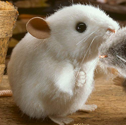 Kösener 5561 - Maus Pieps weiß 10 cm Kösen
