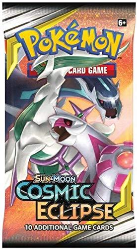 Pokémon 171-81589 Sol y Luna 12: Eclipse cósmico-Paquete de refuerzo, 1 sobre con 10 cartas