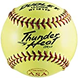 Dudley Dual Stamp Thunder Heat Fastpitch Softball - 12 Pack