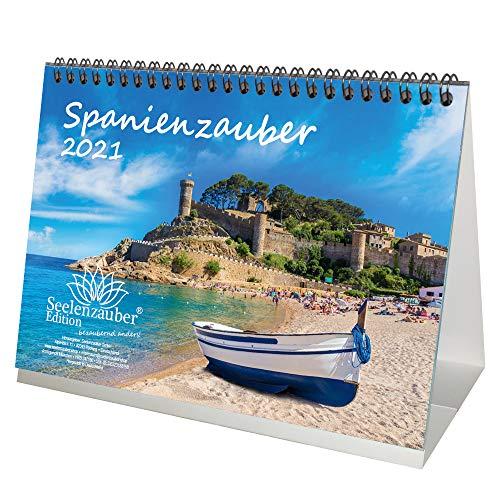 Hiszpaniaberski DIN A5 kalendarz stołowy na rok 2021 Hiszpania - dusza