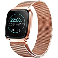 Smart Watch with Bluetooth, Fitness Tracker Heart Rate Monitor Smart Bracelet IP68 Waterproof...