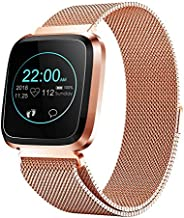 Smart Watch with Bluetooth Fitness Tracker Color Touch Screen Heart Rate Monitor Activity Tracker Pedometer Sleep Monitor ...