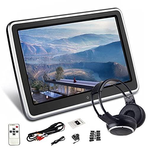"""MaSYZBF Reproductor de DVD para Reposacabezas de Coche con Pantalla de 10,1"""", Soporta HDMI/USB/SD/AV-IN/AV-out/AUX"""