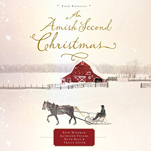 An Amish Second Christmas audiobook cover art