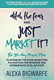 Ditch the Fear & Just Market It!: The 90-Day Power Plan to Establish the Book Marketing Foundation for New and Intermediate Authors
