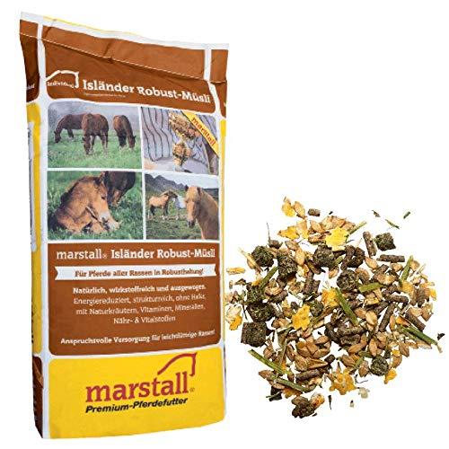 marstall Premium-Pferdefutter Isländer Robust-Müsli, 1er Pack (1 x 20 kilograms)