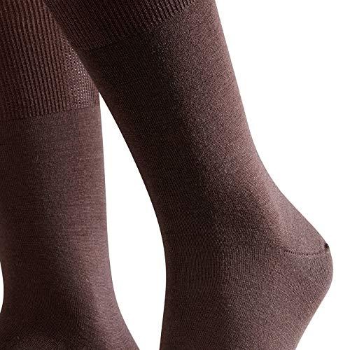 FALKE FALKE Herren Socken Airport, mit Merinowolle und Baumwolle, Business Socken zum Anzug, Blau (Dark Navy 6370), 47-48, 1er Pack