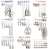 54 Pairs Fashion Tassel Drop Earrings Set for...