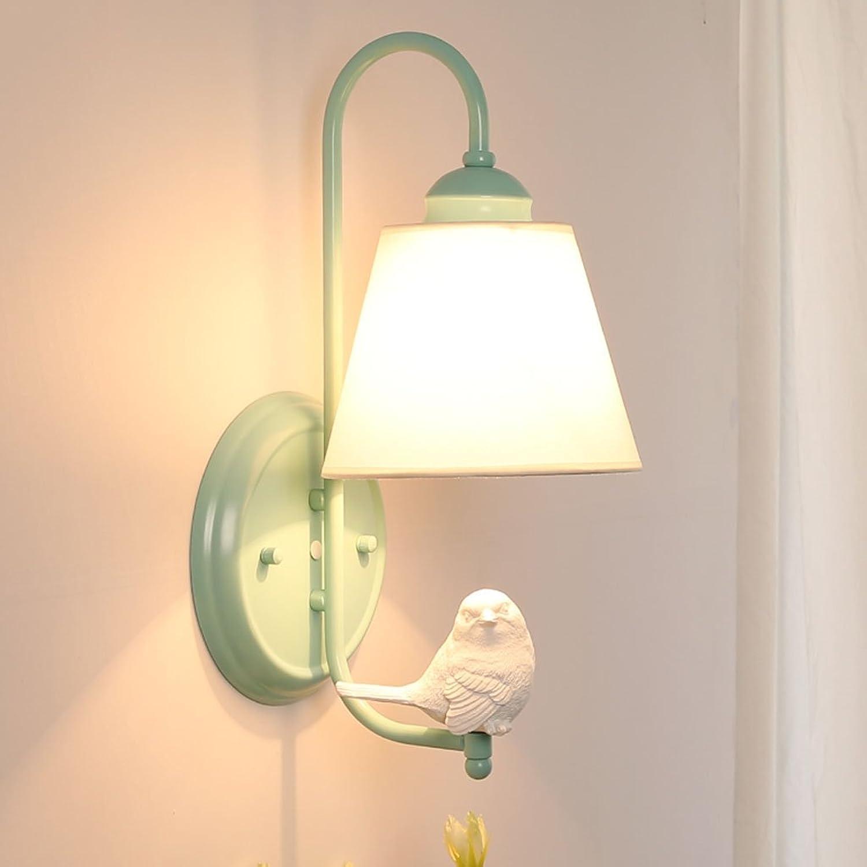 Wandleuchte Ganglichter Korridor Lichter Vogelform lesen Schlafzimmer Cafe Wohnzimmer Restaurant Hotel Wei schwarz Grün A+ (Farbe   Grün)