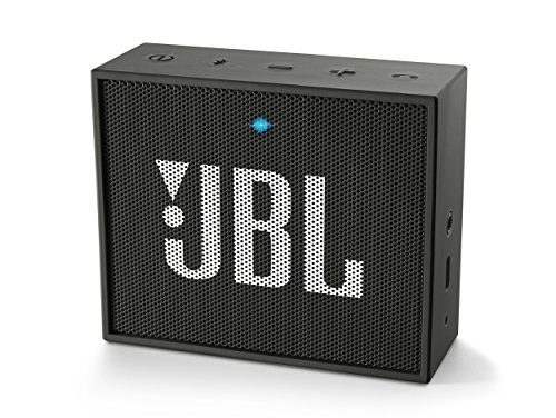 JBL GO Diffusore Bluetooth Portatile, Ricaricabile, Ingresso Aux-In, Vivavoce, Compatibilità Smartphone/Tablet e Dispositivo MP3, Nero