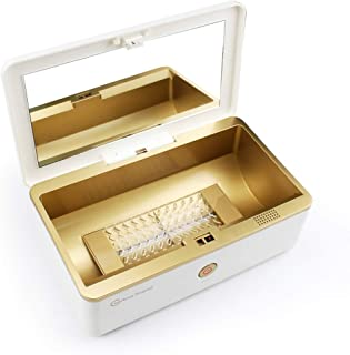 Ysswjzz UV Sterilizer,LED Disinfection Device, Portable Disinfection Box UV + Ozone 99% Dual Sterilization Box UVC Band USB Interface