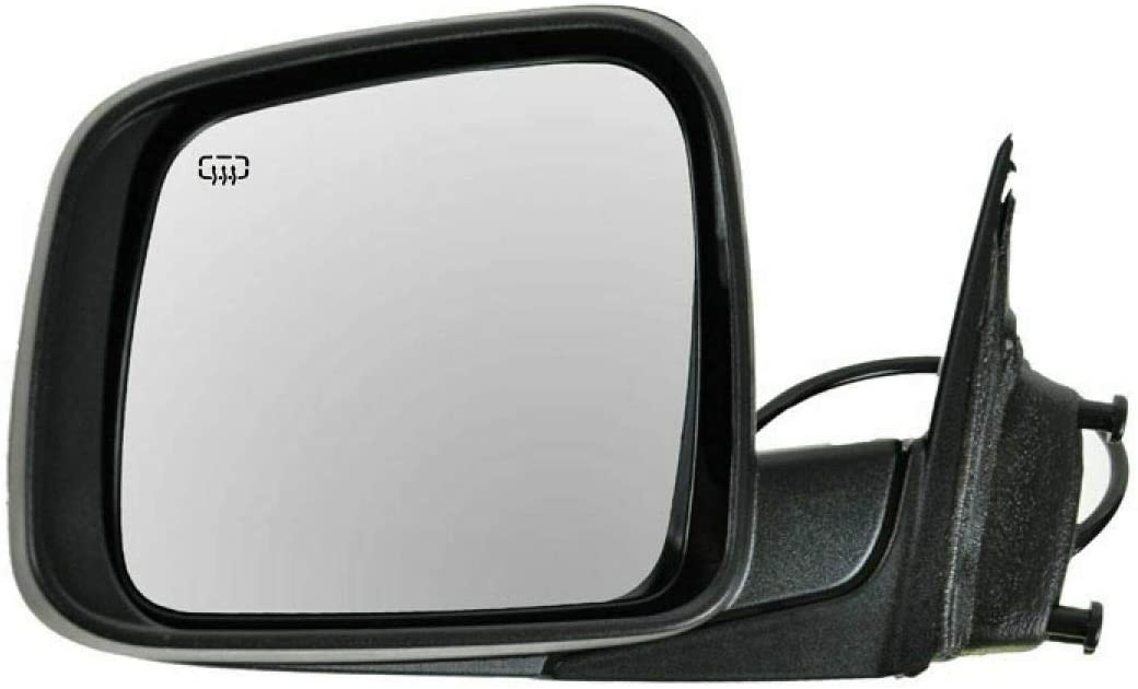 Power Heated Mirror Driver Side Left LH 11-18 『4年保証』 Compatible レビューを書けば送料当店負担 with Je