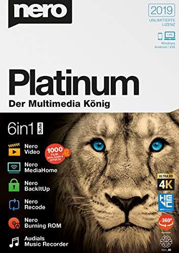 Nero 2019 | Platinum | PC | PC Aktivierungscode per Email