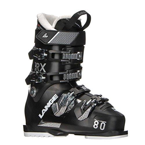 Lange skischoenen Rx 80 W L.v. (Black) dames - maat 42 2/3 - zwart