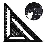 MultiWare Règle triangulaire en aluminium robuste 30,5 cm