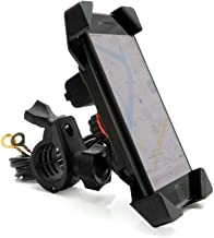 Motorcycle Phone Mount Holder with USB Charger Port Universal for 7/8
